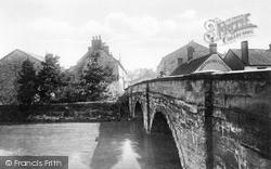 Pickering, The Bridge c.1935