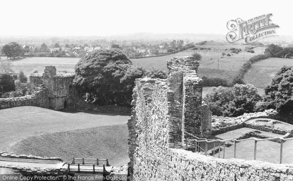 Photo of Pickering, the Castle c1960, ref. P156165