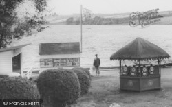 Pickmere, Boat Hire Kiosk, The Lake c.1960
