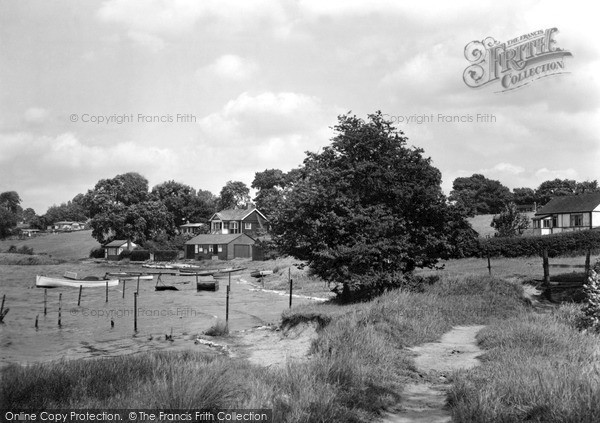 Pickmere, The Lake c.1955