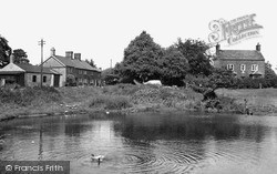 Pickmere, The Pond c.1955