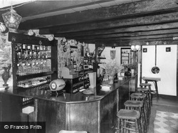 Pillaton, The Ale Room, The Weary Friar c.1955
