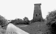 Pilling, the Old Mill c1960