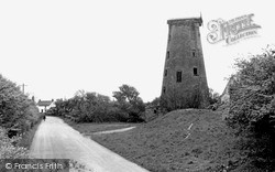 Pilling, The Old Mill c.1960