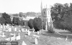 St John The Baptist Church c.1955, Pilton