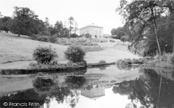 The Lake, Westholme House c.1960, Pilton