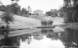 The Lake, Westholme House c.1965, Pilton