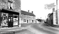 The Post Office c.1955, Pilton