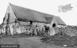 Pilton, Tithe Barn c.1955