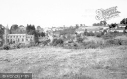 Village And Church c.1955, Pilton