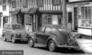 Pinner, Austin A30 Van, VW Beetle Car c1960