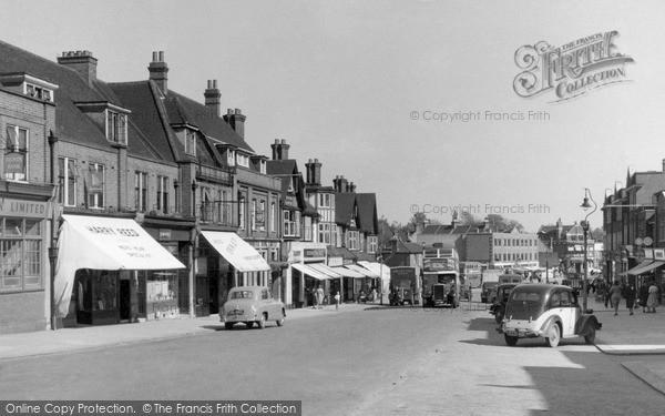 Photo of Pinner, Bridge Street c1955