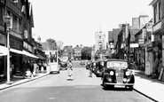 Pinner, High Street c1955