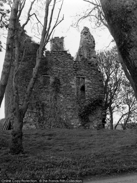 Photo of Pinwherry, Castle 1958