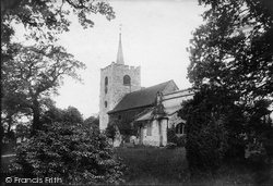 Pirbright, Church Of St Michael And All Angels 1908