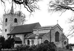 Pirbright, Church Of St Michael And All Angels c.1955