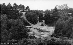 Pirbright, Fox Hills c.1960