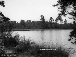 Pirbright, Henley Park Lake c.1965