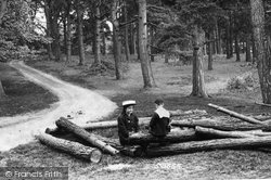 Pirbright, In The Woods 1908
