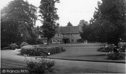 Pirbright, The Manor House c.1965