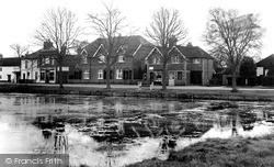 Pirbright, The Pond c.1955