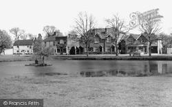 The Pond c.1955, Pirbright