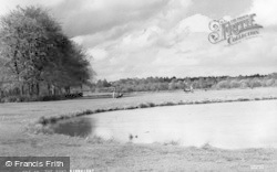 Pirbright, The Pond c.1960