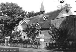 The Village Hall c.1960, Pirbright
