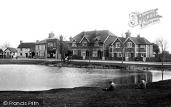 Pirbright, The Village Pond 1908