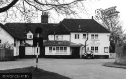 Pirbright, The White Hart Inn c.1955