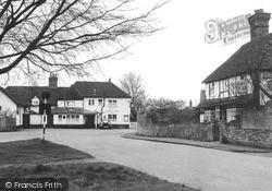 White Hart Corner c.1955, Pirbright