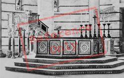Baptistry Of St John, Font And Pulpit c.1930, Pisa
