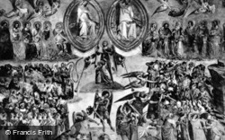 Camposanto Vecchio, Fresco, The Last Judgement c.1930, Pisa