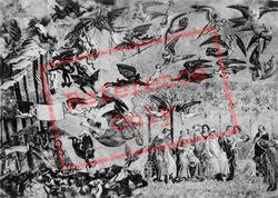 Camposanto Vecchio, Fresco, The Triumph Of Death, Left Side c.1930, Pisa