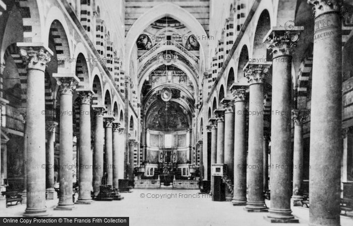 Photo of Pisa, Cathedral, Nave c.1930