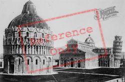 Piazza Del Duomo c.1930, Pisa