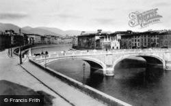 Ponte Solferino And Santa Maria Della Spina c.1930, Pisa