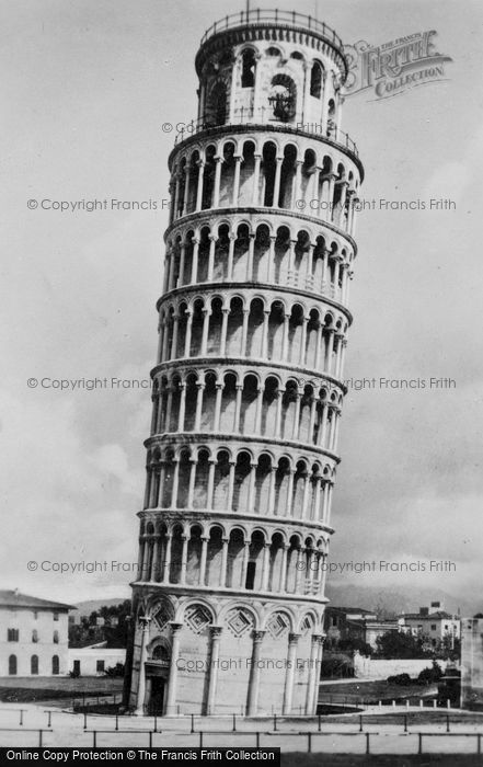 Photo of Pisa, The Leaning Tower c.1930
