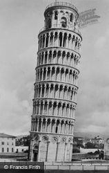 The Leaning Tower c.1930, Pisa