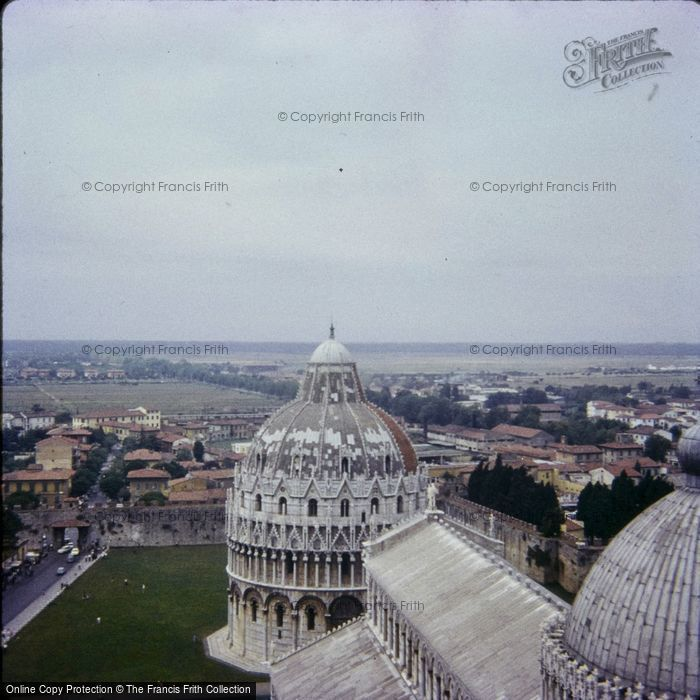 Photo of Pisa, View From The Tower 1967