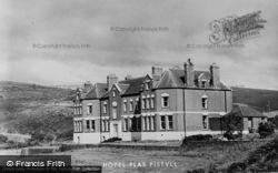 Pistyll, Plas Pistyll Hotel c.1955