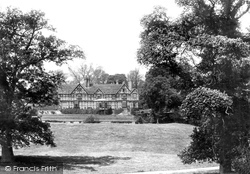 Pitchford, Pitchford Hall 1891