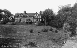 Pitchford, Pitchford Hall And Stream 1891