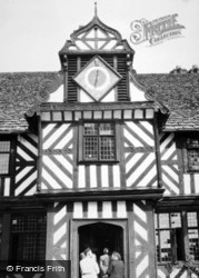 Pitchford, Pitchford Hall Clock 1948