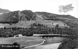 Craigower And Loch Faskally c.1935, Pitlochry