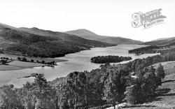 Loch Tummel And Schiehallion c.1935, Pitlochry