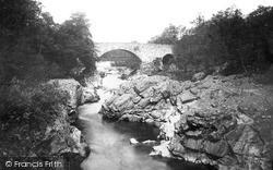 Pitlochry, North Bridge Of Garry c.1890