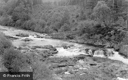 River Tummel c.1963, Pitlochry