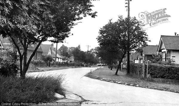 Pitsea, Brackendale Avenue c1955