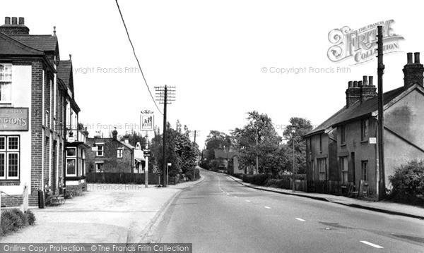 Pitsea, Gun Hill c1955